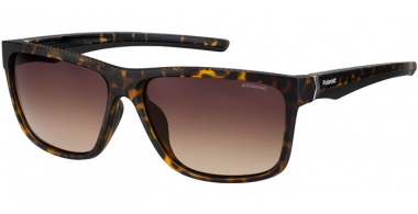 Sunglasses - Polaroid Sport - PLD 7014/S - 086 (LA) DARK HAVANA // BROWN GRADIENT POLARIZED