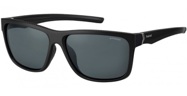 Sunglasses - Polaroid Sport - PLD 7014/S - 807 (M9) BLACK // GREY POLARIZED