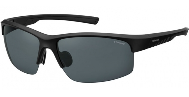Sunglasses - Polaroid Sport - PLD 7018/S - 807 (M9) BLACK // GREY POLARIZED