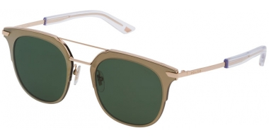 Sunglasses - Police - SPL584 HALO 4 - 0300 PINK GOLD // GREEN