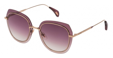 Sunglasses - Police - SPL831  - 300R  SHINY ROSE GOLD // VIOLET GRADIENT