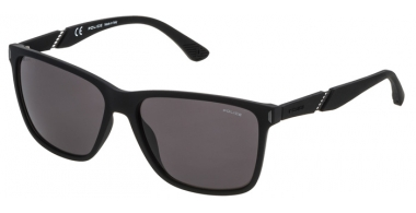 Sunglasses - Police - SPL529 SPEED 10 - 6AAP RUBBER BLACK // GREY POLARIZED