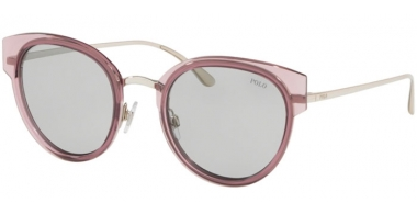 Sunglasses - POLO Ralph Lauren - PH3116 - 934587 TRASPARENT PINK // LIGHT GREY