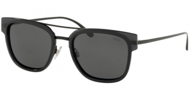 Sunglasses - POLO Ralph Lauren - PH3117 - 900387 CRYSTAL BLACK // GREY