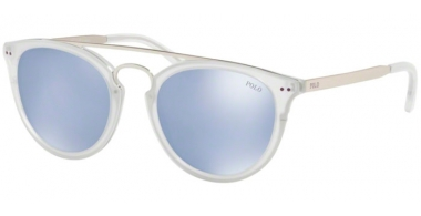 Sunglasses - POLO Ralph Lauren - PH4121 - 50021U MATTE CRYSTAL // LILAC FLASH