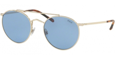 Sunglasses - POLO Ralph Lauren - PH3114 - 911672 PALE GOLD // BLUE