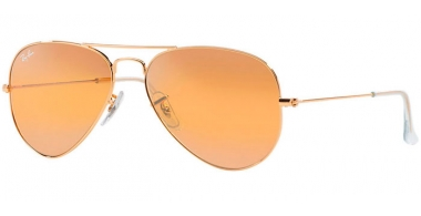 Gafas de Sol - Ray-Ban® - Ray-Ban® RB3025 AVIATOR LARGE METAL - 001/4F GOLD // PHOTOCHROMIC YELLOW GSM