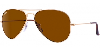 Gafas de Sol - Ray-Ban® - Ray-Ban® RB3025 AVIATOR LARGE METAL - 001/33 GOLD // CRYSTAL BROWN