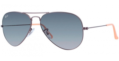 Gafas de Sol - Ray-Ban® - Ray-Ban® RB3025 AVIATOR LARGE METAL - 029/71 MATTE GUNMETAL // CRYSTAL GREY GRANDIENT