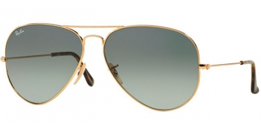 Gafas de Sol - Ray-Ban® - Ray-Ban® RB3025 AVIATOR LARGE METAL - 181/71 GOLD // LIGHT GREY GRADIENT DARK GREY