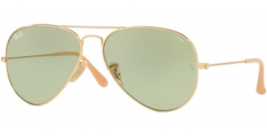 Gafas de Sol - Ray-Ban® - Ray-Ban® RB3025 AVIATOR LARGE METAL - 90644C GOLD // PHOTOCROMIC GREEN