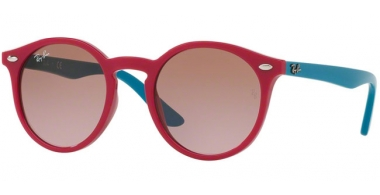 Frames Junior - Ray-Ban® Junior Collection - RJ9064S - 701914 FUXIA // VIOLET GRADIENT BROWN