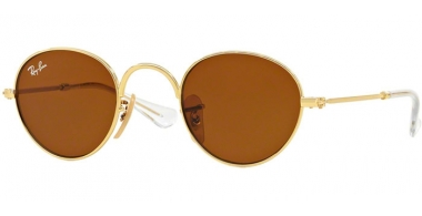 Frames Junior - Ray-Ban® Junior Collection - RJ9537S - 223/3 GOLD // BROWN