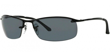Gafas de Sol - Ray-Ban® - Ray-Ban® RB3183 - 002/81 BLACK // GREY POLARIZED