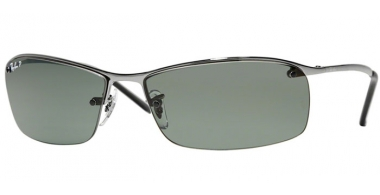 Gafas de Sol - Ray-Ban® - Ray-Ban® RB3183 - 004/9A GUNMETAL // GREEN POLARIZED