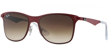Gafas de Sol - Ray-Ban® - Ray-Ban® RB3521 - 162/13 MATTE RED // BROWN GRADIENT