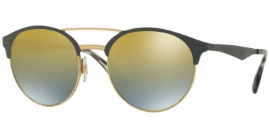 Sunglasses - Ray-Ban® - Ray-Ban® RB3545 - 9007A7 GOLD MATTE GREY // GOLD GRADIENT