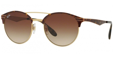 Sunglasses - Ray-Ban® - Ray-Ban® RB3545 - 900813 GOLD TOP HAVANA // BROWN GRADIENT