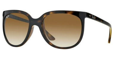 Sunglasses - Ray-Ban® - Ray-Ban® RB4126 CATS  1000 - 710/51 LIGHT HAVANA // CRYSTAL BROWN GRADIENT