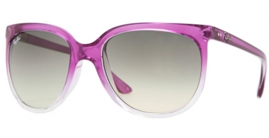 Sunglasses - Ray-Ban® - Ray-Ban® RB4126 CATS  1000 - 798/32 TRANSPARENT METALLIC FUCSIA GRANDIENT // GREY GRADIENT