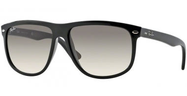 Sunglasses - Ray-Ban® - Ray-Ban® RB4147 - 601/32 BLACK // CRYSTAL GREY GRADIENT