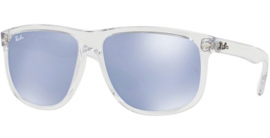 Sunglasses - Ray-Ban® - Ray-Ban® RB4147 - 63251U TRANSPARENT // BLUE FLASH SILVER