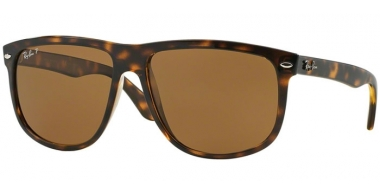 Sunglasses - Ray-Ban® - Ray-Ban® RB4147 - 710/57 LIGHT HAVANA  // CRYSTAL BROWN POLARIZED