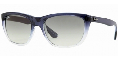 Sunglasses - Ray-Ban® - Ray-Ban® RB4154 - 822/32 BLUE GRADIENT TRANSPARENT // CRYSTAL GREY GRADIENT