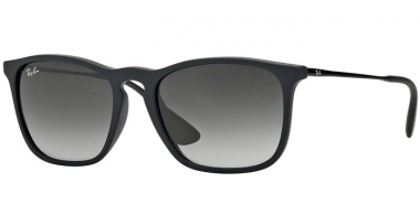 Gafas de Sol - Ray-Ban® - Ray-Ban® RB4187 CHRIS - 622/8G RUBBER BLACK // LIGHT GREY GRADIENT DARK GREY