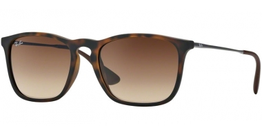 Gafas de Sol - Ray-Ban® - Ray-Ban® RB4187 CHRIS - 856/13 RUBBER HAVANA // GRADIENT BROWN