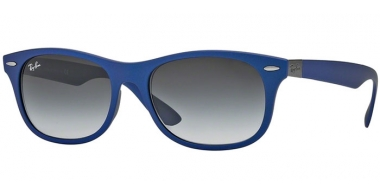 Gafas de Sol - Ray-Ban® - Ray-Ban® RB4207 - 60158G MATTE BLUE // GREY GRADIENT DARK GREY