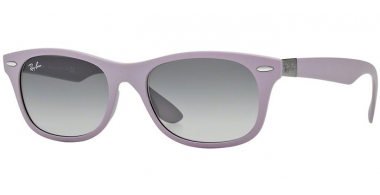 Gafas de Sol - Ray-Ban® - Ray-Ban® RB4207 - 609811 MATTE ANTIQUE PINK // GREY GRADIENT