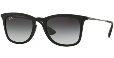 Sunglasses - Ray-Ban® - Ray-Ban® RB4221 - 622/8G RUBBER BLACK // LIGHT GREY GRADIENT DARK GREY