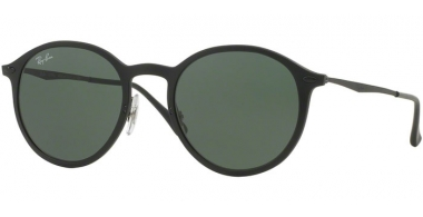 Gafas de Sol - Ray-Ban® - Ray-Ban® RB4224 - 601S71 MATTE BLACK // DARK GREEN