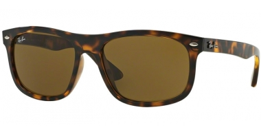 Sunglasses - Ray-Ban® - Ray-Ban® RB4226 - 710/73 SHINY HAVANA // DARK BROWN