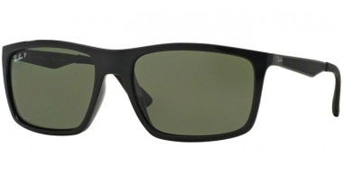 Sunglasses - Ray-Ban® - Ray-Ban® RB4228 - 601/9A BLACK // GREEN POLARIZED