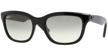 Sunglasses - Ray-Ban® - Ray-Ban® RB4159 - 601/32 BLACK // CRYSTAL GREY GRADIENT