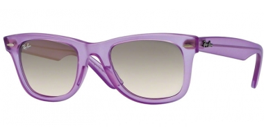 Gafas de Sol - Ray-Ban® - Ray-Ban® RB2140 ORIGINAL WAYFARER ICE-POP - 605632 DEMI GLOSS VIOLET // GREY GRADIENT