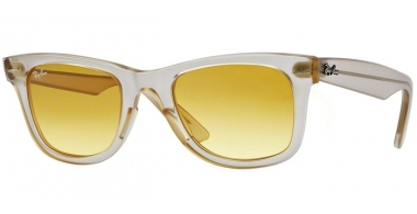 Gafas de Sol - Ray-Ban® - Ray-Ban® RB2140 ORIGINAL WAYFARER ICE-POP - 6059X4 DEMI GLOSS BEIGE // YELLOW GRADIENT BROWN PHOTO