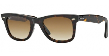 Sunglasses - Ray-Ban® - Ray-Ban® RB2140 ORIGINAL WAYFARER - 902/51 TORTOISE // CRYSTAL BROWN GRADIENT