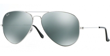 Gafas de Sol - Ray-Ban® - Ray-Ban® RB3025 AVIATOR LARGE METAL - 003/40 SILVER // CRYSTAL GREY MIRROR