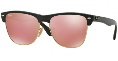 Gafas de Sol - Ray-Ban® - Ray-Ban® RB4175 CLUBMASTER OVERSIZED - 877/Z2 DEMI SHINY BLACK // LIGHT BROWN MIRROR PINK