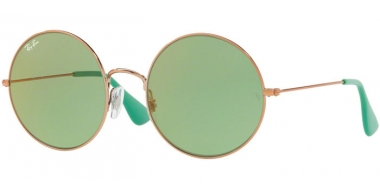 Lunettes de soleil - Ray-Ban® - Ray-Ban® RB3592 JA-JO - 9035C7 SHINY COPPER // GREEN FLASH