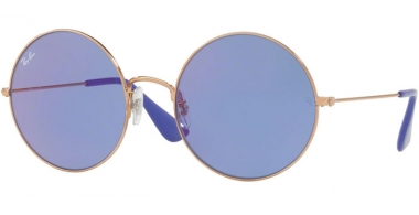 Lunettes de soleil - Ray-Ban® - Ray-Ban® RB3592 JA-JO - 9035D1 SHINY COPPER // BLUE FLASH
