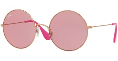 Lunettes de soleil - Ray-Ban® - Ray-Ban® RB3592 JA-JO - 9035F6 SHINY COPPER // LIGHT PINK FLASH