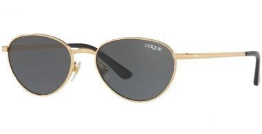 Sunglasses - Vogue - VO4082S BY GIGI HADID - 280/87 GOLD // GREY