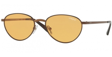 Sunglasses - Vogue - VO4082S BY GIGI HADID - 5074/7 COPPER  LIGHT BROWN // ORANGE
