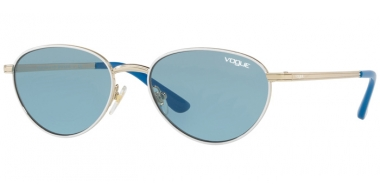 Sunglasses - Vogue - VO4082S BY GIGI HADID - 848/80 PALE GOLD WHITE // BLUE