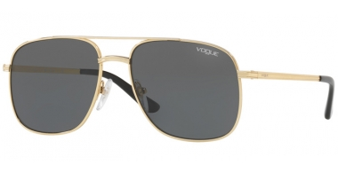Sunglasses - Vogue - VO4083S BY GIGI HADID - 280/87 GOLD // GREY