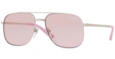 Sunglasses - Vogue - VO4083S BY GIGI HADID - 323/5 SILVER // PINK